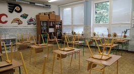 príchod do školy, ZŠ Kalinčiakova v Bratislave