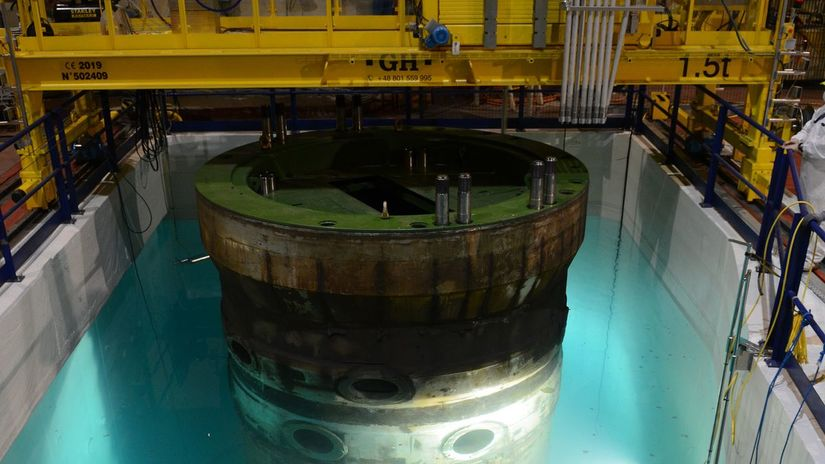 bohunice, reaktor, sťahovanie