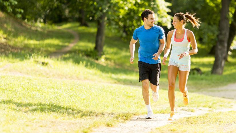 príroda, pohyb, beh, jogging