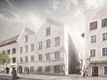 Rakúsko Hitler dom redizajn stanica policajná