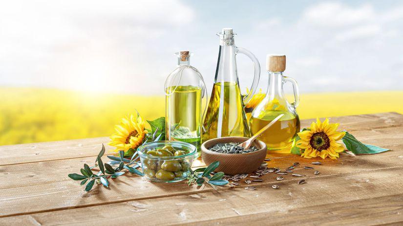 olej, kuchynský tuk, panenský olej, fľaša,...