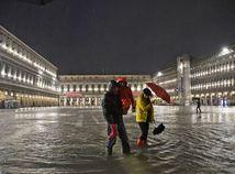 Taliansko Benákty príliv záplavy