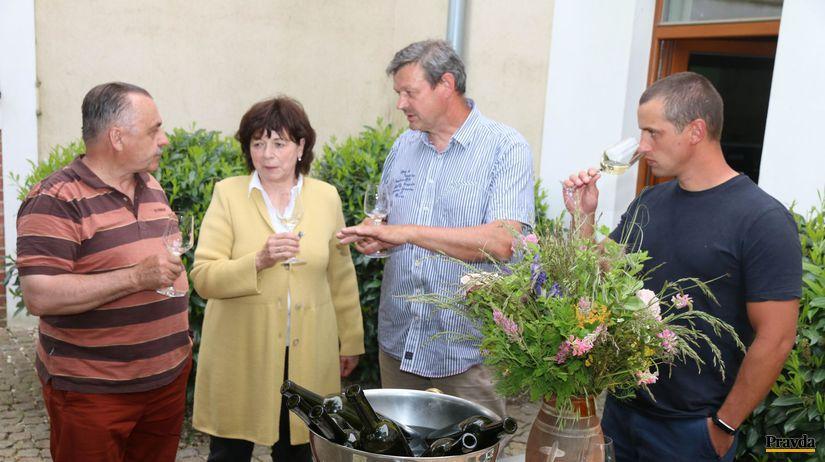 Bruno Gábel, Margita Šebová, Ladislav Šebo, Peter Likavec, víno, someliér
