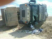 D4 nehoda nákladné vozidlo