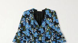 Romantické šaty s florálnym motívom Michael Kors, predávajú sa za 225 eur.
