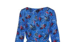 Šaty s florálnym motívom Gant, zlacnené na 153,90 eura.