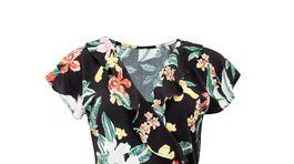 Zavinovacie šaty s florálnym motívom Pour Moi, predávajú sa za 36 eur.