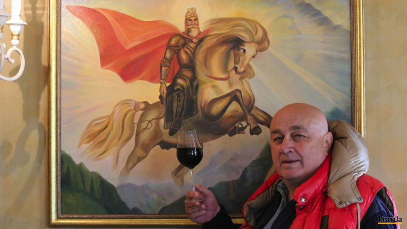 Vladislav Chablijev, víno
