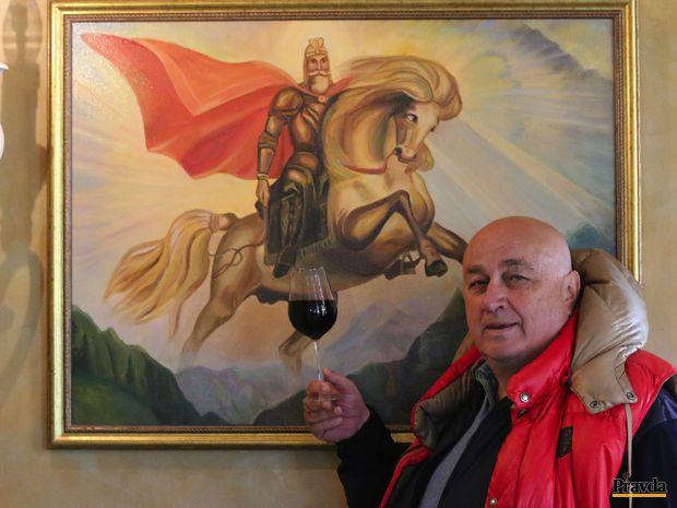 Slovenské víno s kaukazskou dušou