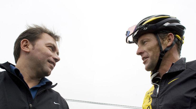 Johan Bruyneel, Lance Armstrong