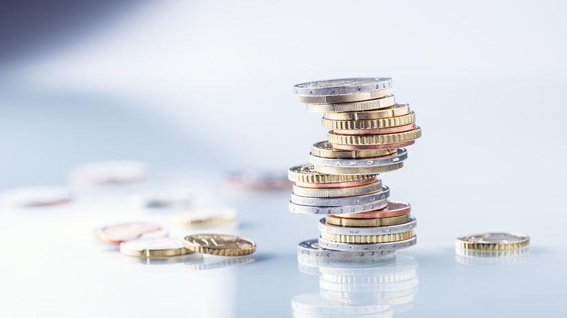 peniaze, mince, euro, centy