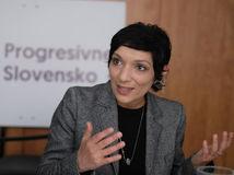 Irena Bihariová, predsedníčka Progresívneho Slovenska