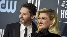 Manželia Brandon Blackstock a Kelly Clarkson na zábere z januára 2020.