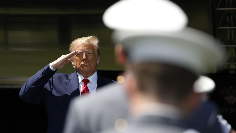 Donald Trump / West Point /