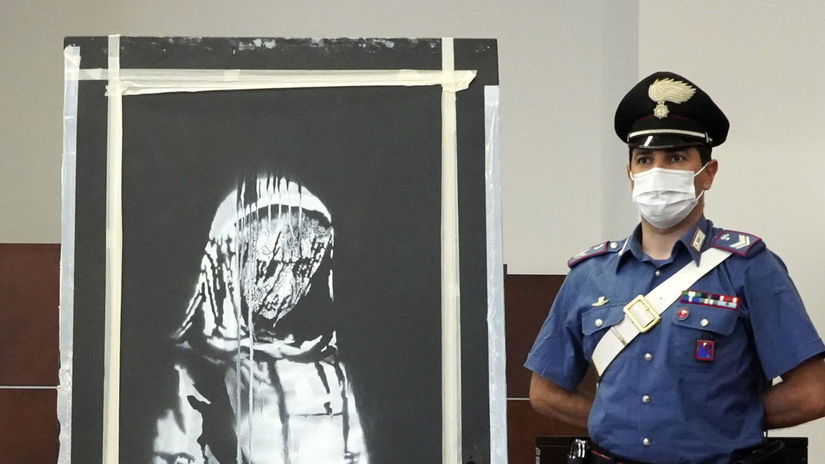 Italy Recovered Banksy