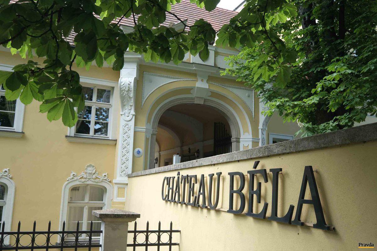 Hotel Château Béla, v ktorom sa v novembri uskutoční Danube Wine Challenge.