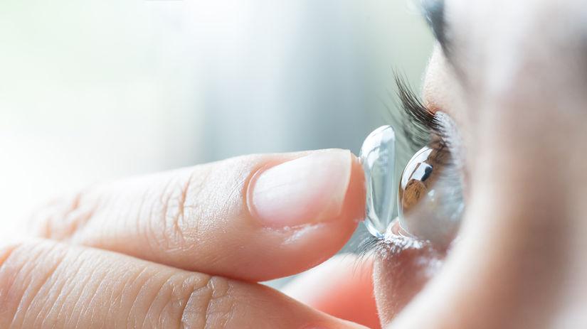 kontaktné šošovky, oko, zrak