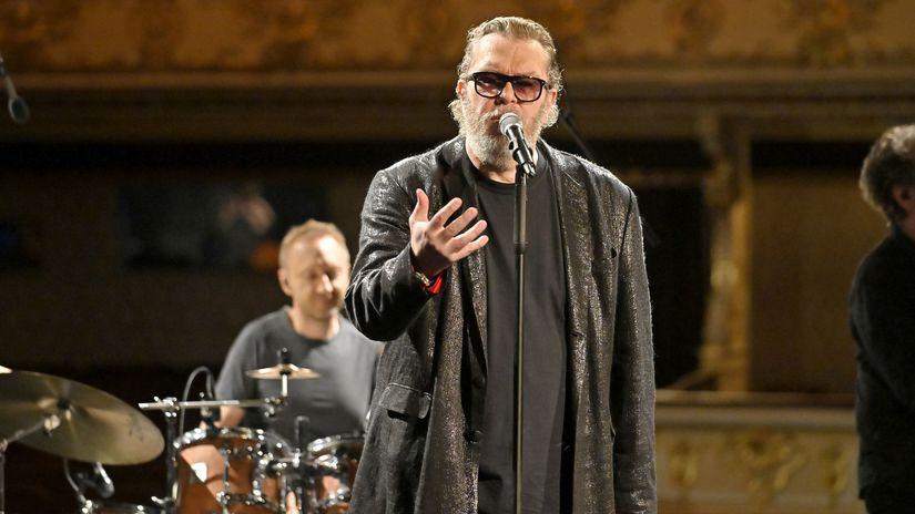 Richard Mueller a band  Foto RTVS Milan Krupcik...