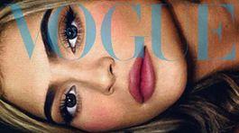Záber na Kylie Jennerovú na obálke magazínu Vogue CS.