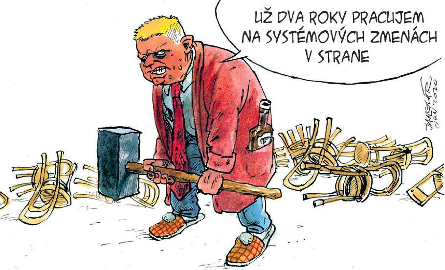 Karikatúra 20.06.2020