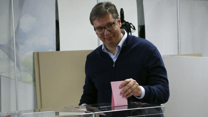 Srbsko voľby parlamentné