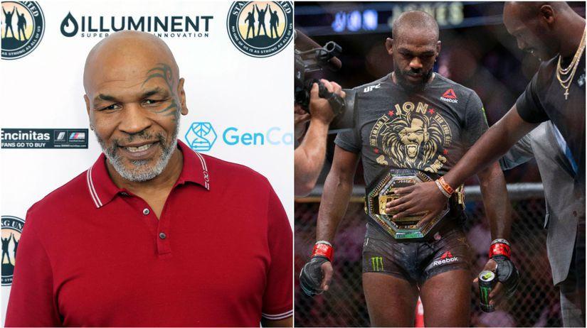 Mike Tyson, Jon Jones