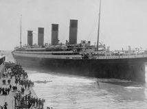 Titanic - photo of the glacier