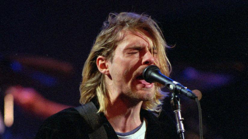 USA Nirvana Cobain Úmrtie 20. Výročie
