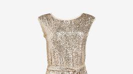 Dámske trblietavé šaty Next, predávajú sa za 76 eur.
