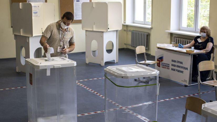 Rusko voľby referendum