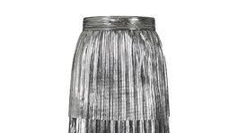 Trblietavá sukňa Hotsquash, predáva sa za 105 eur.