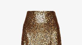 Trblietavá sukňa Just Female, predáva za 47,95 eura Zalando.