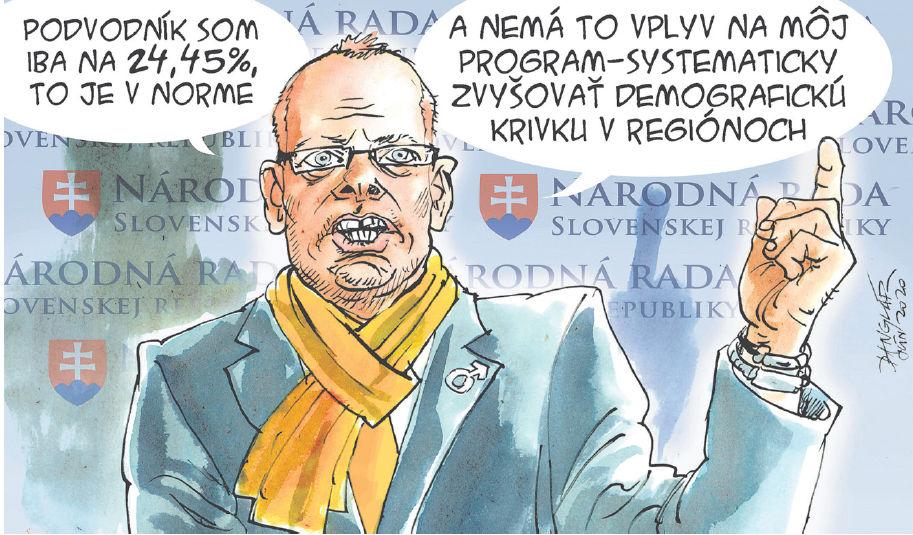 Karikatúra 27.06.2020