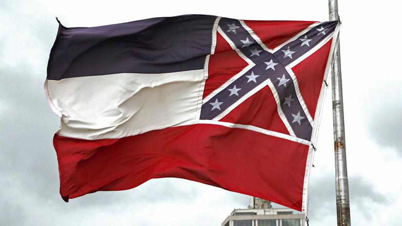 mississippi vlajka konfederácia