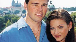 Modelka Andrea Verešová a jej bývalý priateľ Jaromír Jágr na zábere zo začiatku ich vzťahu.