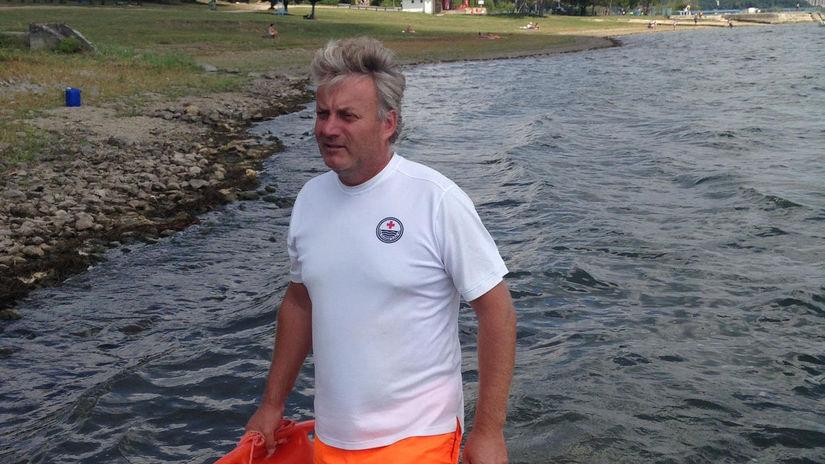 Pavol Skyba, plavčík, Zemplínska šírava