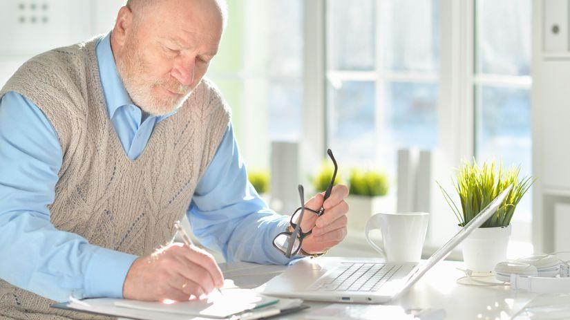 penzista, práca, písanie