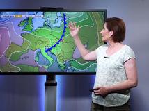 Studený front priveje intenzívne zrážky. Umúdri sa počasie pred víkendom?