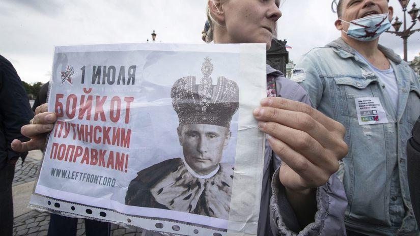 Rusko / Moskva / Protest / Putin /