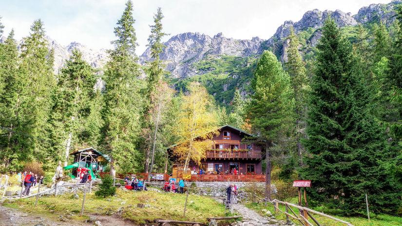 Zamkovského chata, Vysoké Tatry