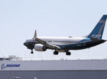 Boeing 737 max test lietadlo