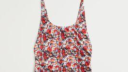 Dámske plavky s kvetinovým vzorom Mango. Predávajú sa za 39,99 eura.