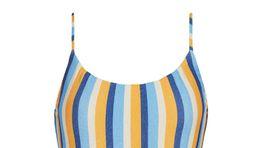 Dámske prúžkované plavky Calzedonia. predávajú sa za 39 eur.