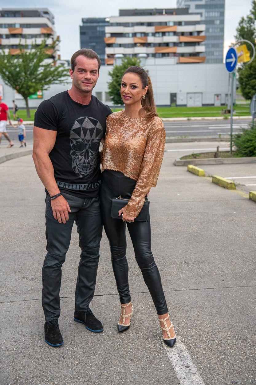 Fitneska Zora Czoborová a jej manžel Peter...