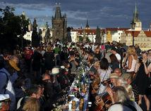 koronavírus, Praha