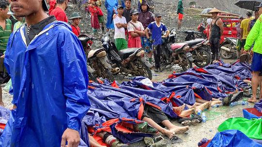 Zosuv pôdy v bani v Mjanmarsku si vyžiadal vyše 160 obetí
