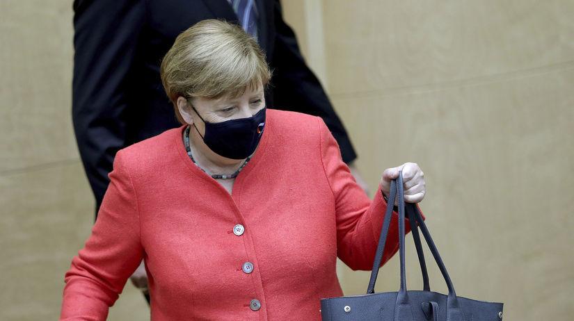 Nemecko koronavírus Merkelová