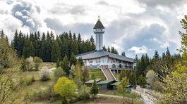 Živčáková, kostol, vyhliadková terasa, Panna Mária