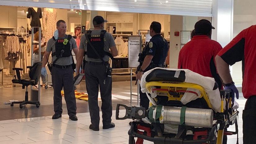 streľba alabama USA police obchodné centrum