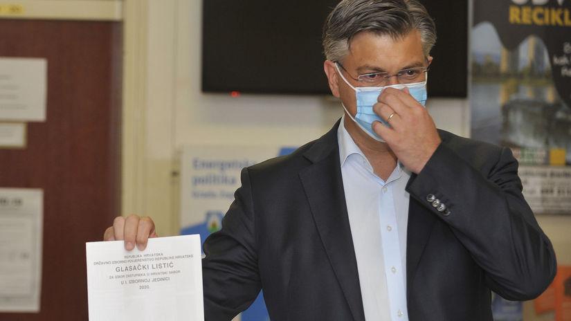 chorvátsko voľby plenkovič